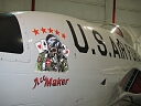 ace maker nose art
