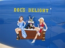 docs delight nose art